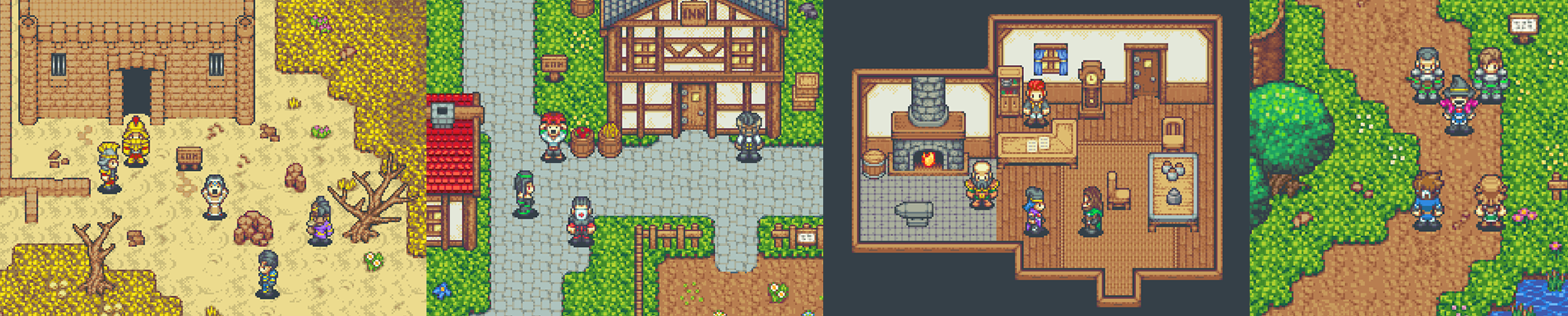 Time Fantasy Retro Rpg Graphics For Game Development