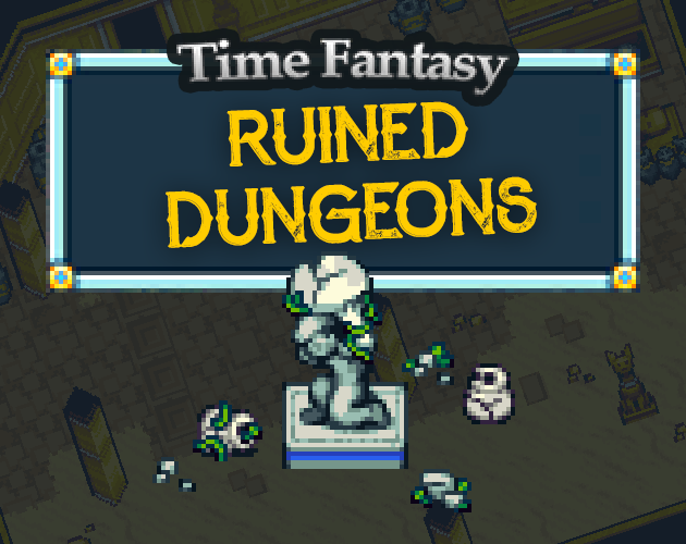Ruined Dungeons Tileset Pack | Time Fantasy