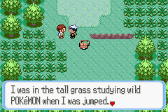 Pokémon uses random encounters, but they can be avoided by staying out of the grass.