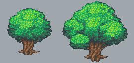 Pixel Trees