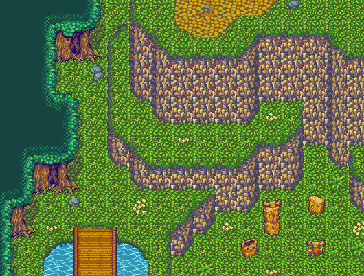 Pixel RPG Tileset
