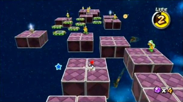The final level in Super Mario Galaxy 2 was hard, but rewarding—every time you died, you felt that you made a mistake and you learned something for your next try.