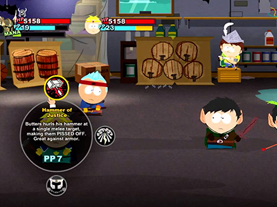 RPG combat that feels a lot like Paper Mario. That's a good thing.
