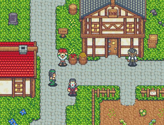 Time Fantasy RPG Graphics